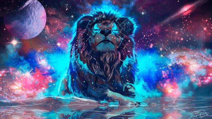 wonderful Sky lion [1280×720]