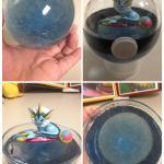 Vaporeon Terrarium With Resin Water Pokemon