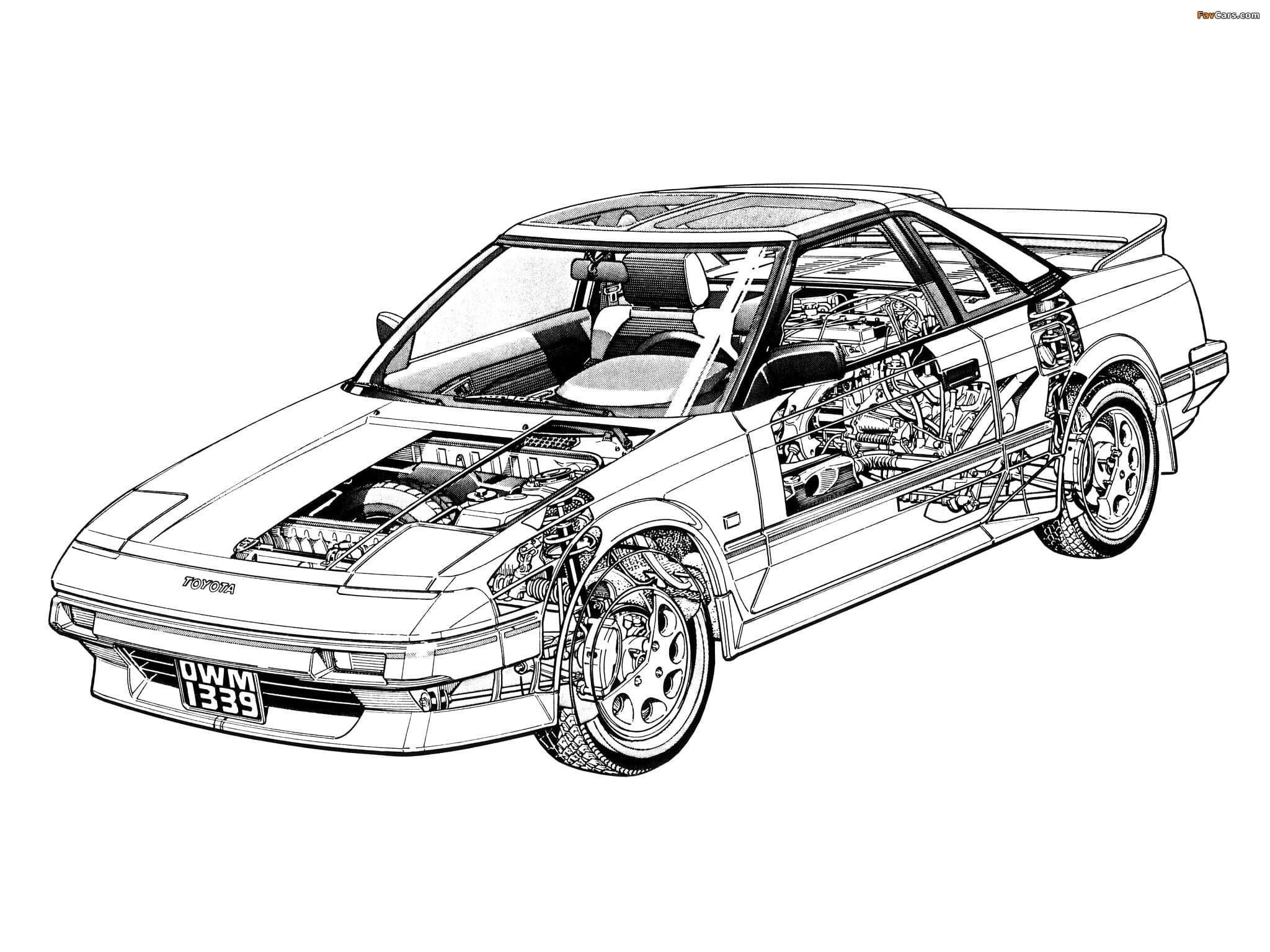 Toyota Mr2 Aw11 Thingscutinhalf