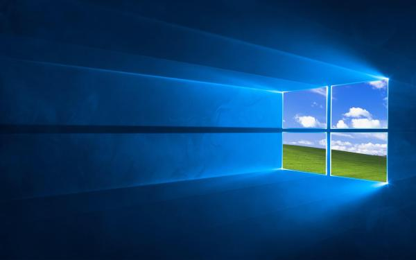 A tribute to a classic Windows XP background. (Credit to u ...
