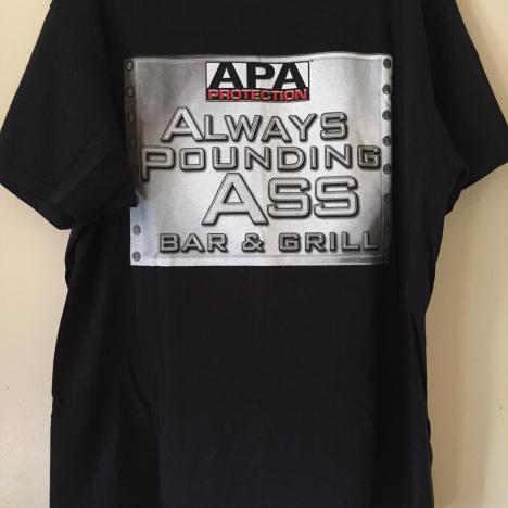 This APA shirt : SquaredCircle