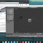 Apparently Blender Works On Chromebook Now It S Getting Better And Better Chromeos