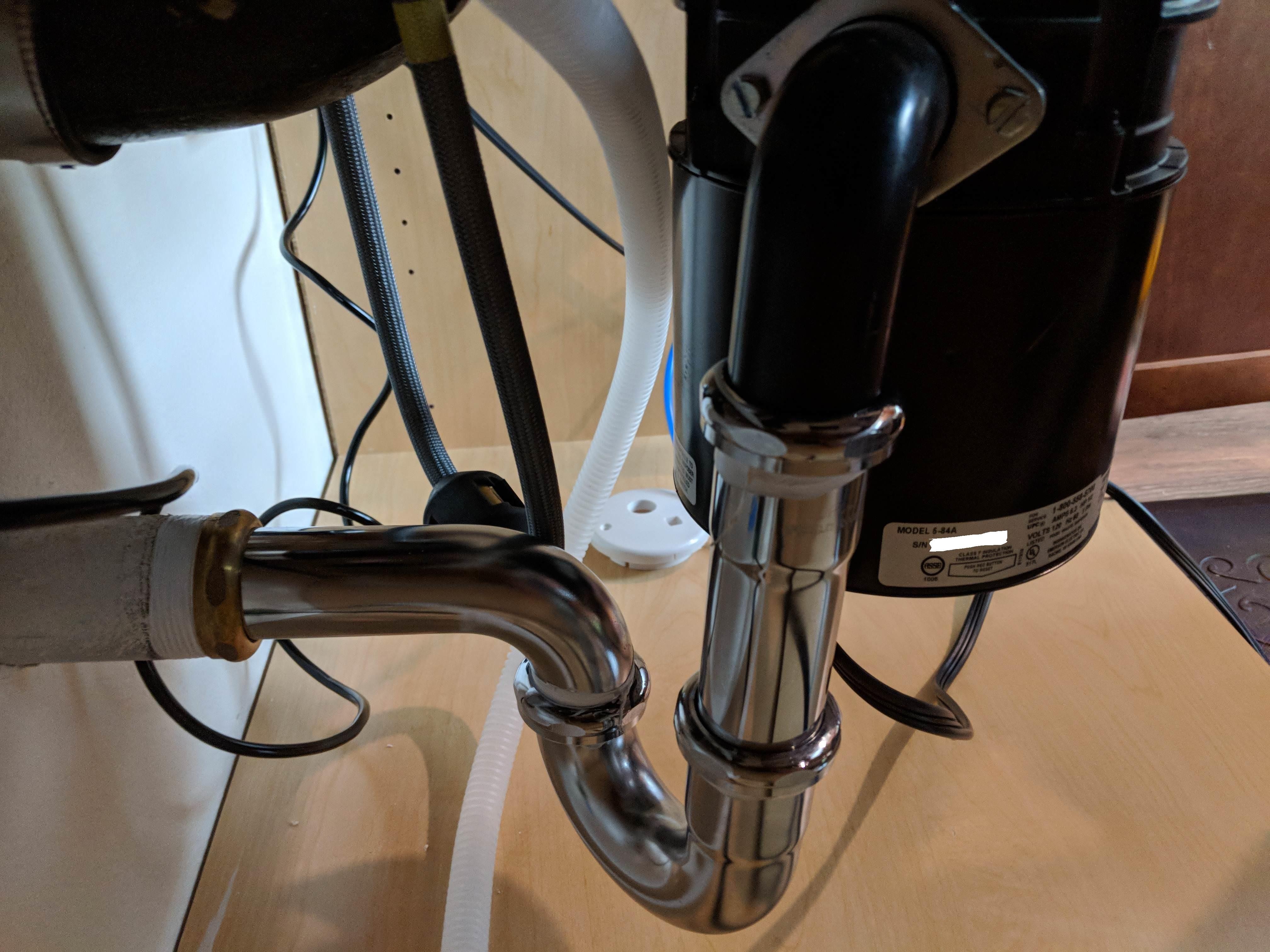 where to install ro drain saddle on