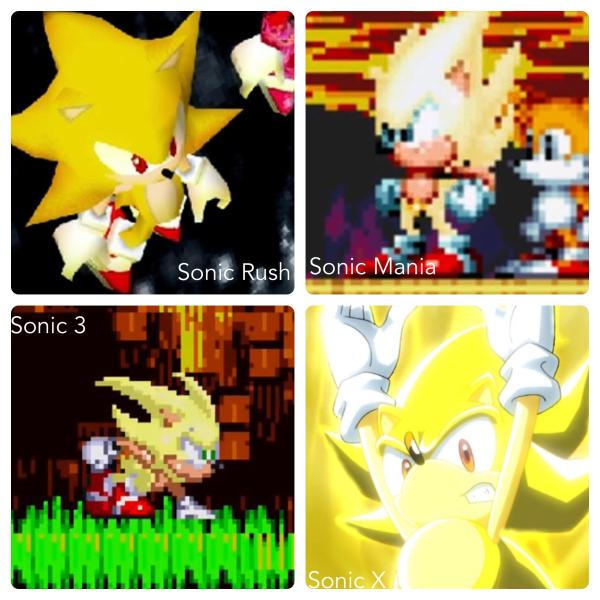super sonic and hyper sonic in sonic 1 # 31