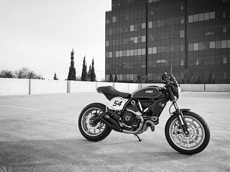 My First Cafe Racer