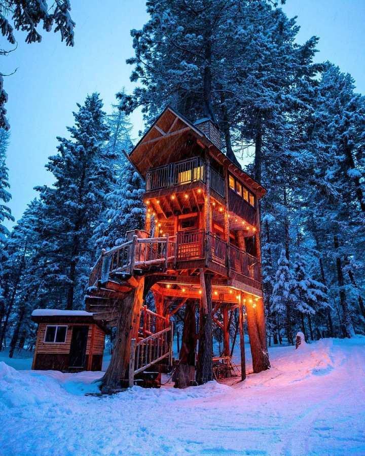 Treehouse Retreat, Montana