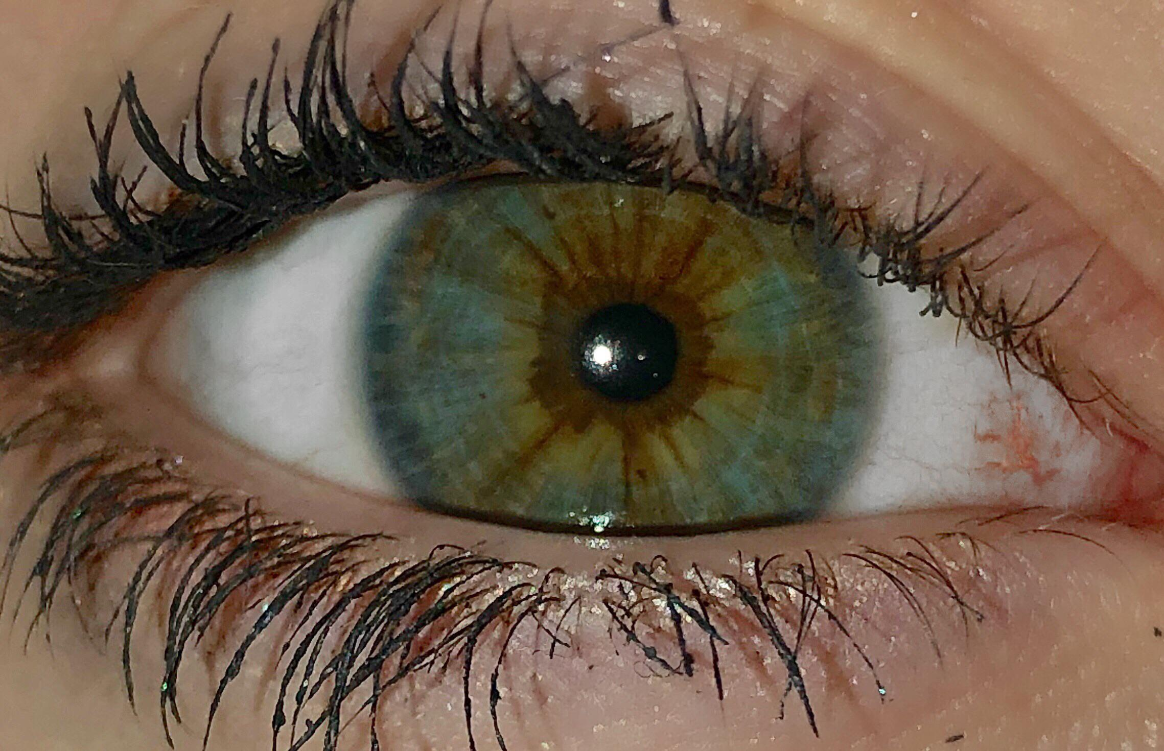 Why Are My Eyes Three Colors Lol Eyes