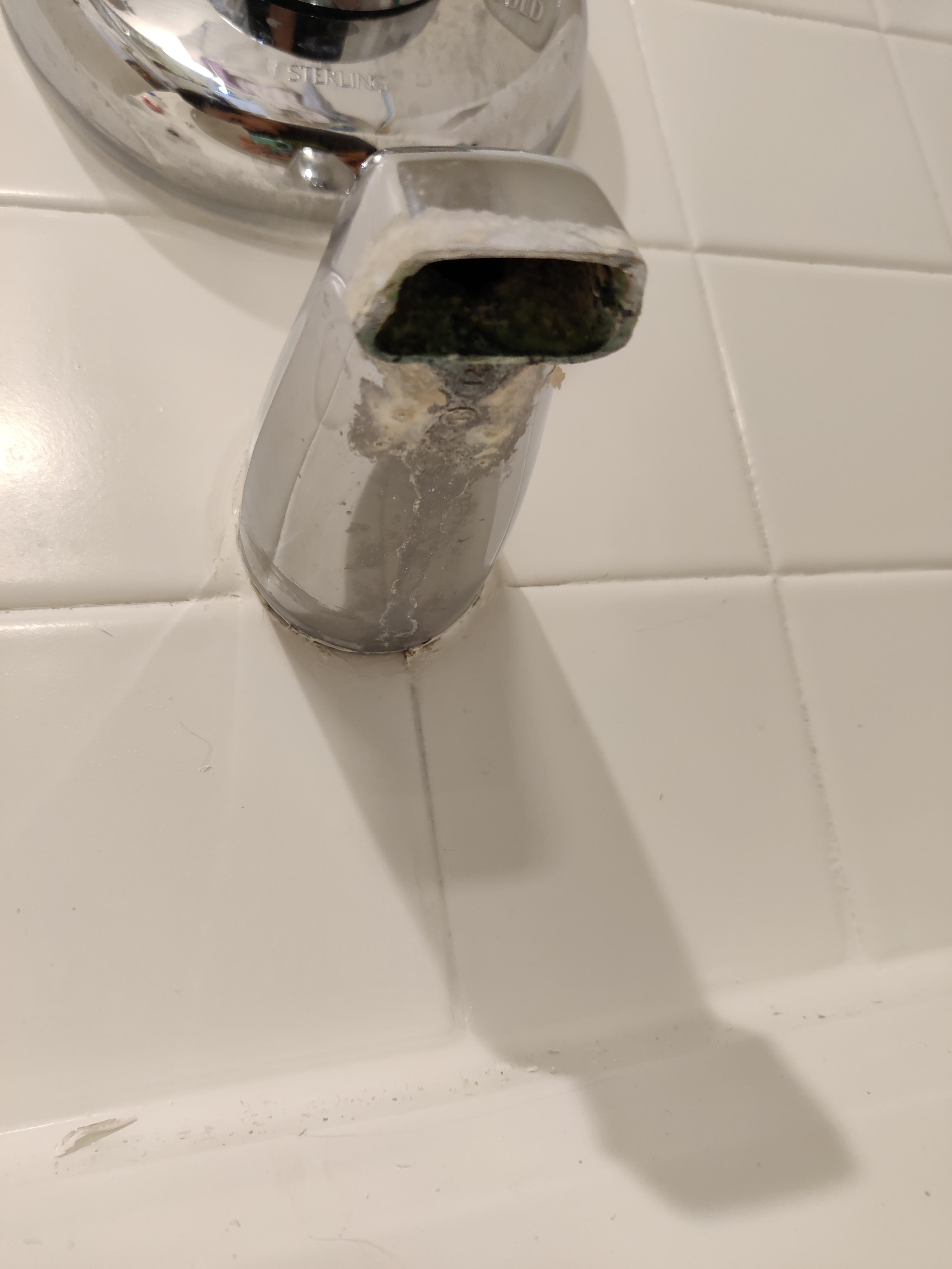 i want to replace this old tub faucet