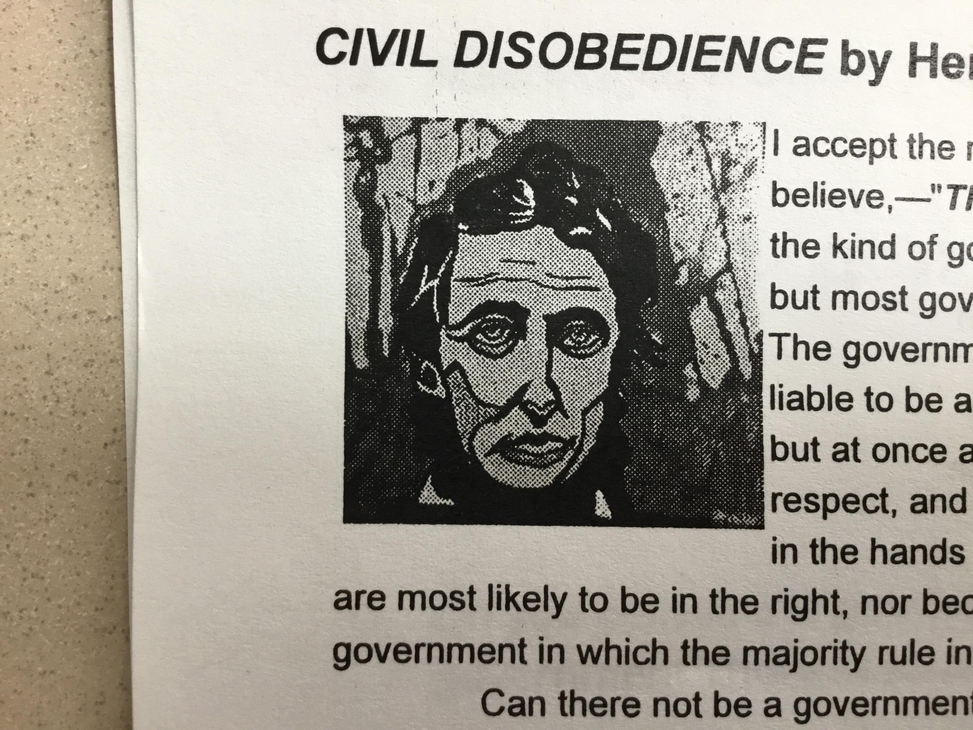 This Picture Of Abraham Lincoln On My English Worksheet Looks Like Hila H3h3productions