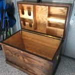 Tack Trunk Finished For My Daughter Woodworking