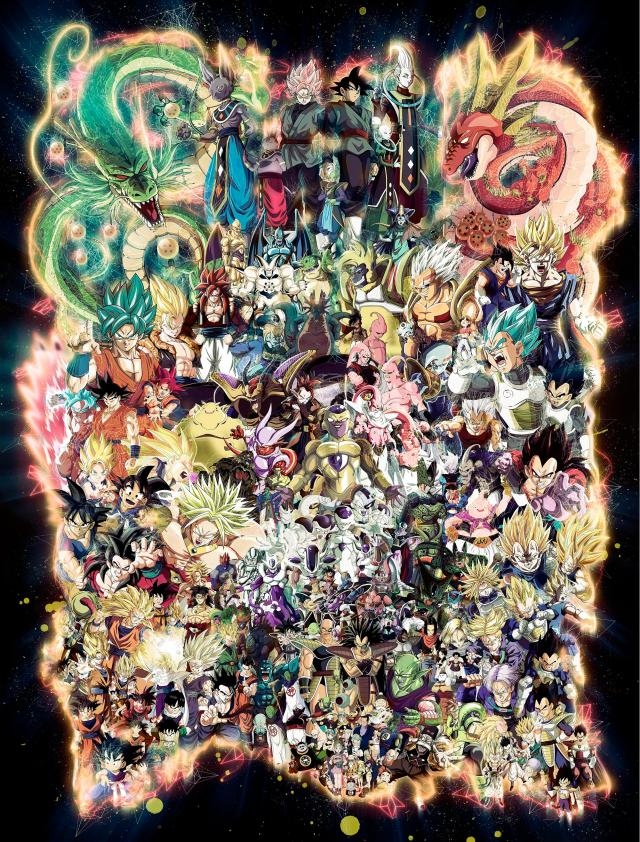 Image result for dragon ball z artwork