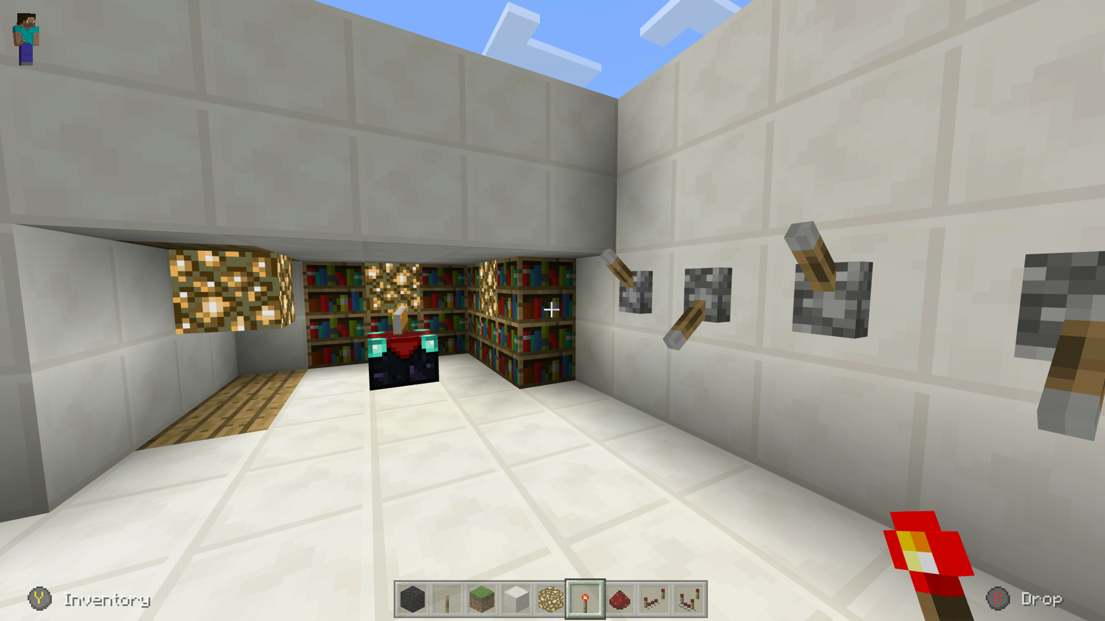 I Built A Variable 0 1 2 15 Bookcases Enchantment Room