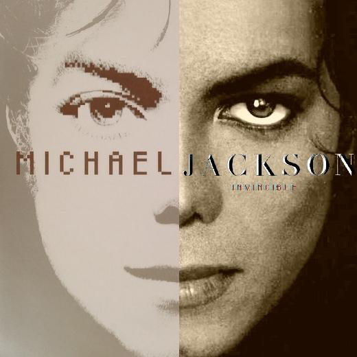 Michael Jackson Invincible alternative art