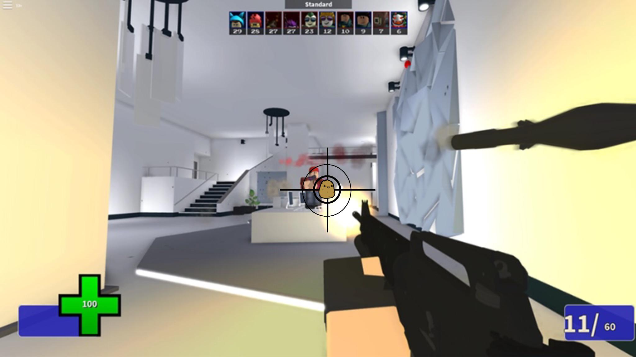 i made a custom arsenal crosshair roblox