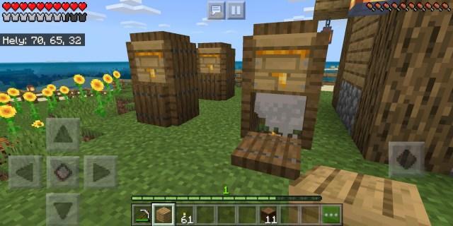 Beehive storage idea: Minecraft