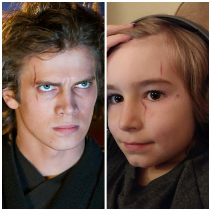 """my son is growing his hair out to """"look like anakin."""" then"""