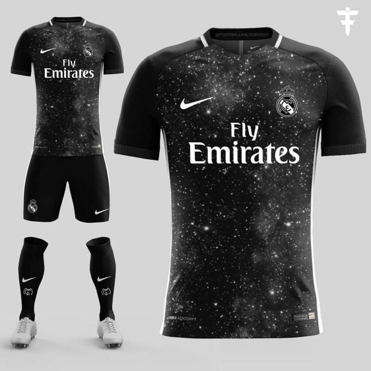 Request Real Madrid x Nike galaxy kit : WEPES_Kits