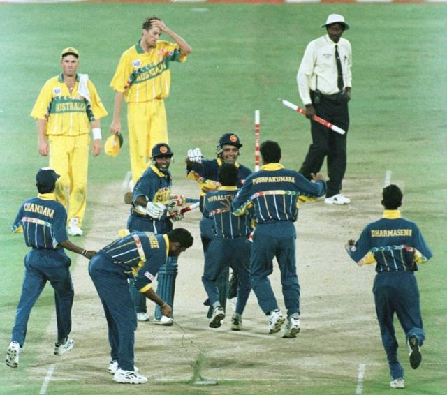 Image result for 1996 cricket world cup final