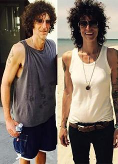 Image result for andrea constand looks like howard stern