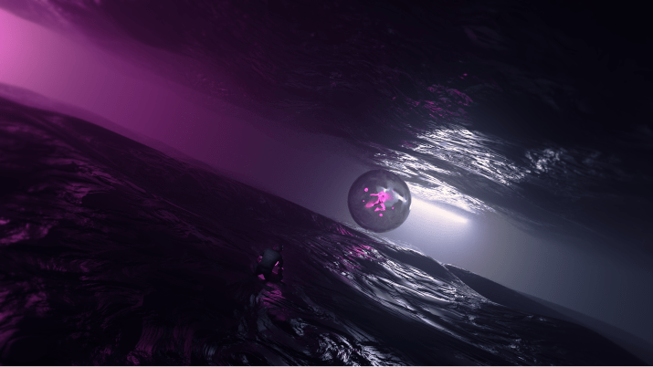 """[3840×2160] """"Close Distance"""" made in blender by myself"""