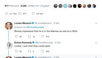 Reporter takes navy seal copypasta reference in New Zealand