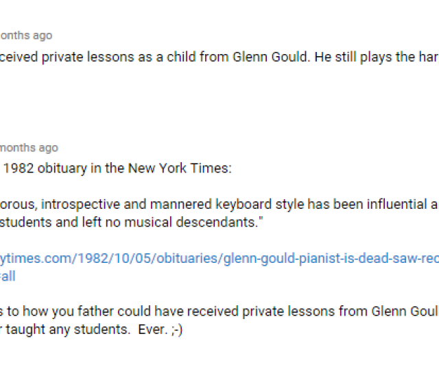 Guy Lies About Piano Lessons