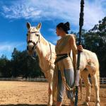 Rey And Bb 8 Cosplay Ft Myself And My Horse Lunia Starwars