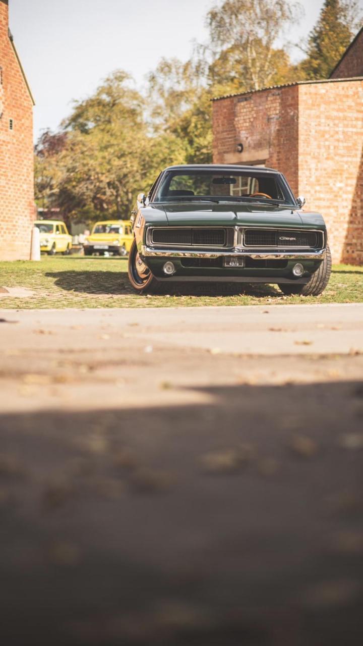 Dodge Charger. Bicester Heritage, UK