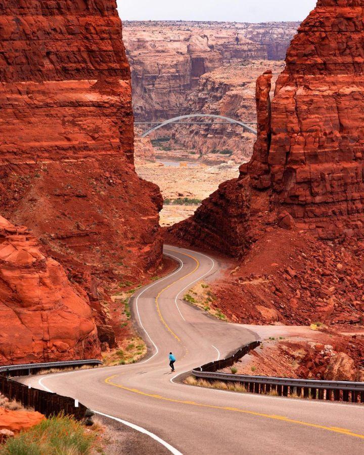 Highway 95, Utah (Photo credit to Nathan Lee)