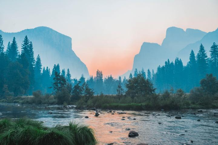 Yosemite Valley !(1920X1080)