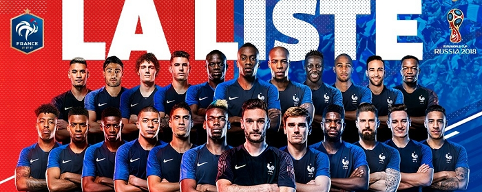 Some, like the quarterback or center, are fairly. France Football Team Sports