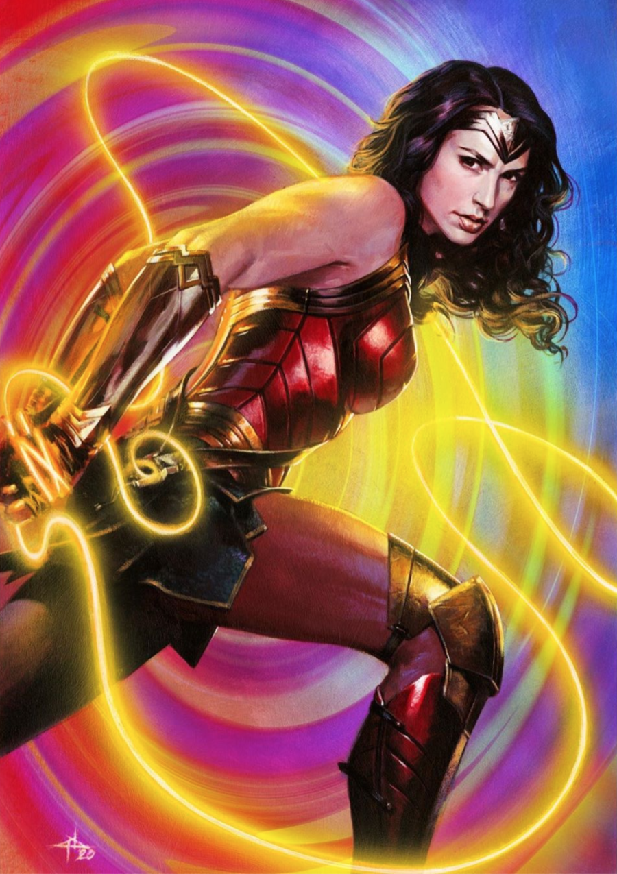 """Superman"""" #26 variant cover with Wonder Woman - The Aspiring Kryptonian"""