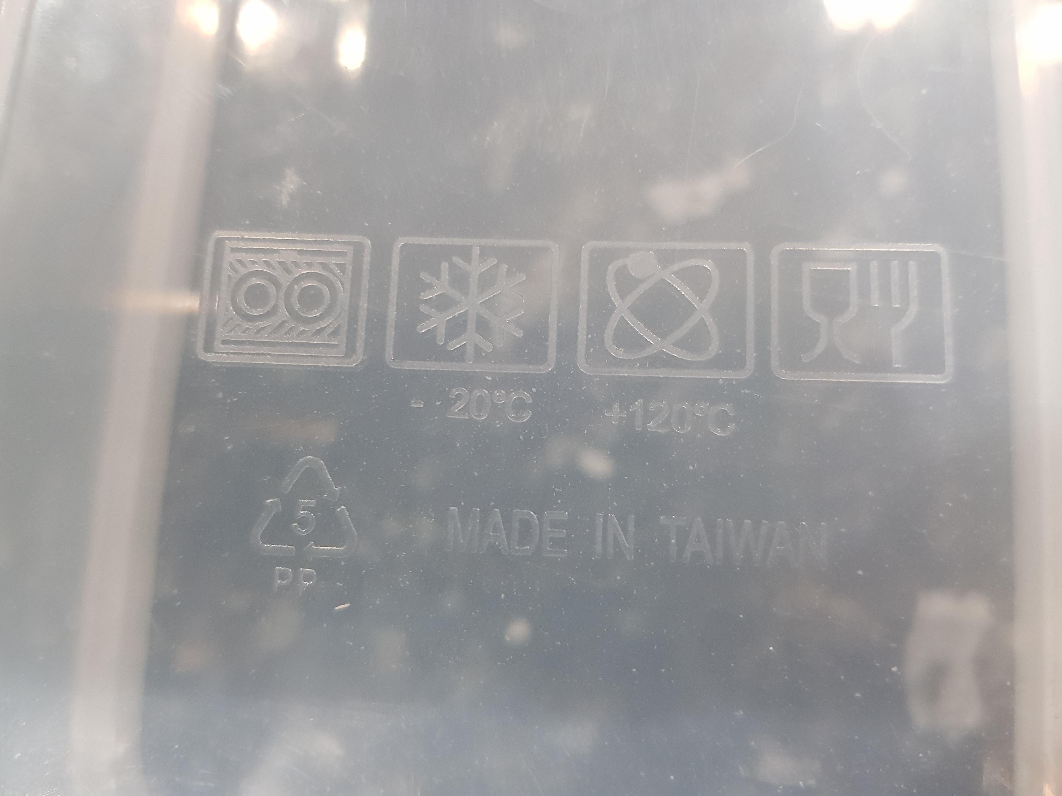what s the atom symbol on this plastic
