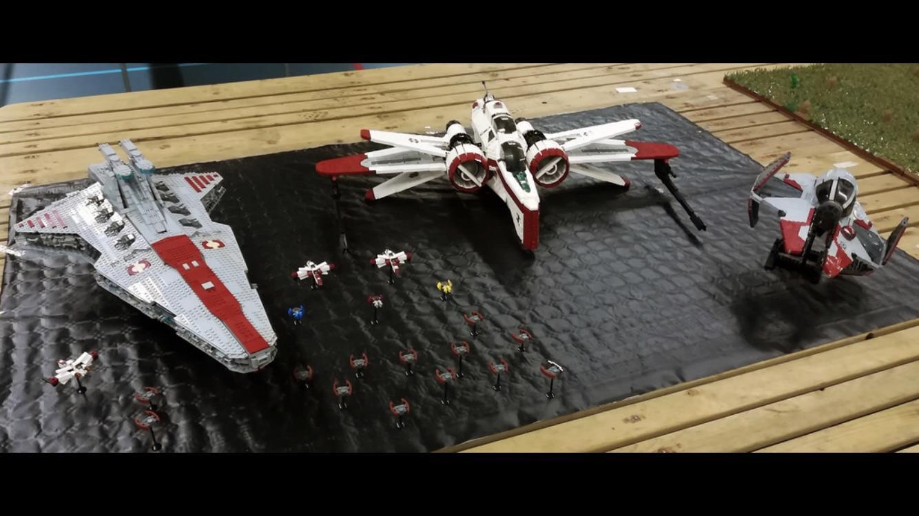 My Ucs Venator3000 Pieces 80cm Length Alongside Thire5s