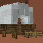 Covered Wagon Design Minecraft