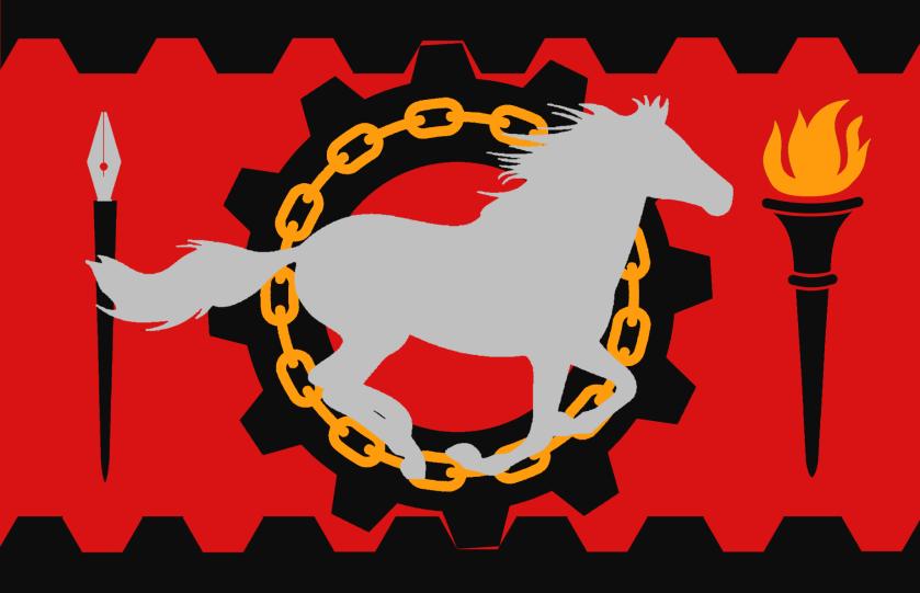 Kendota_Tanassian: Modern Communist Nomad flag