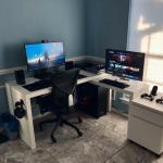 My Corner Setup Sponsored By Ikea Battlestations