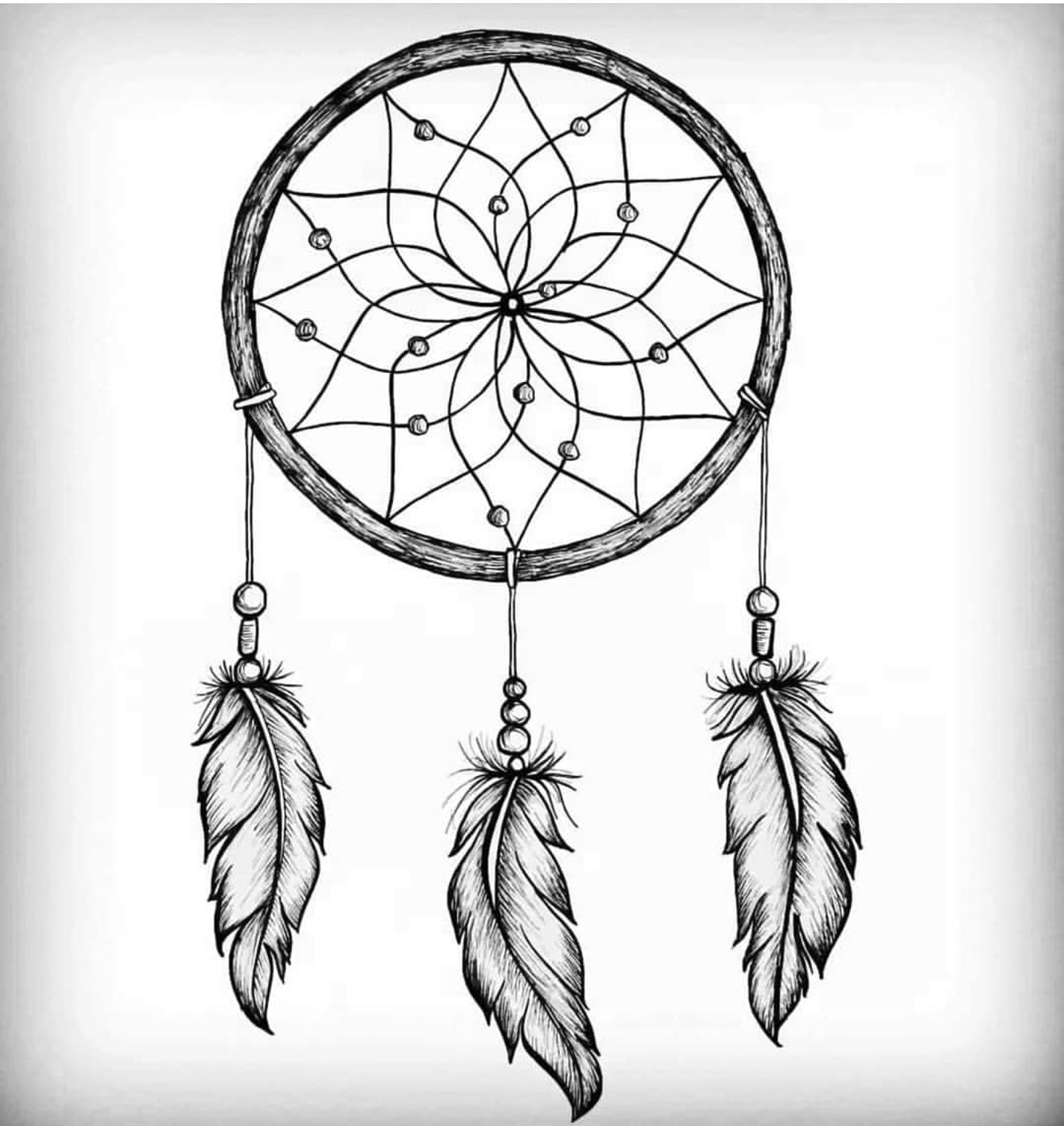 Dream Catcher Drawing Drawing