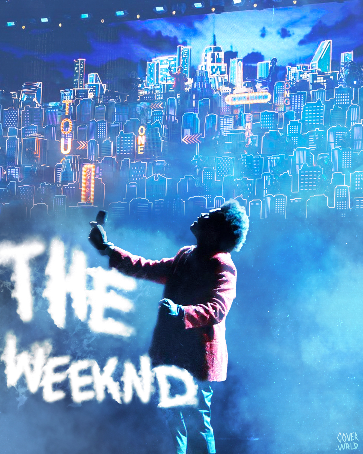 the weeknd super bowl halftime poster