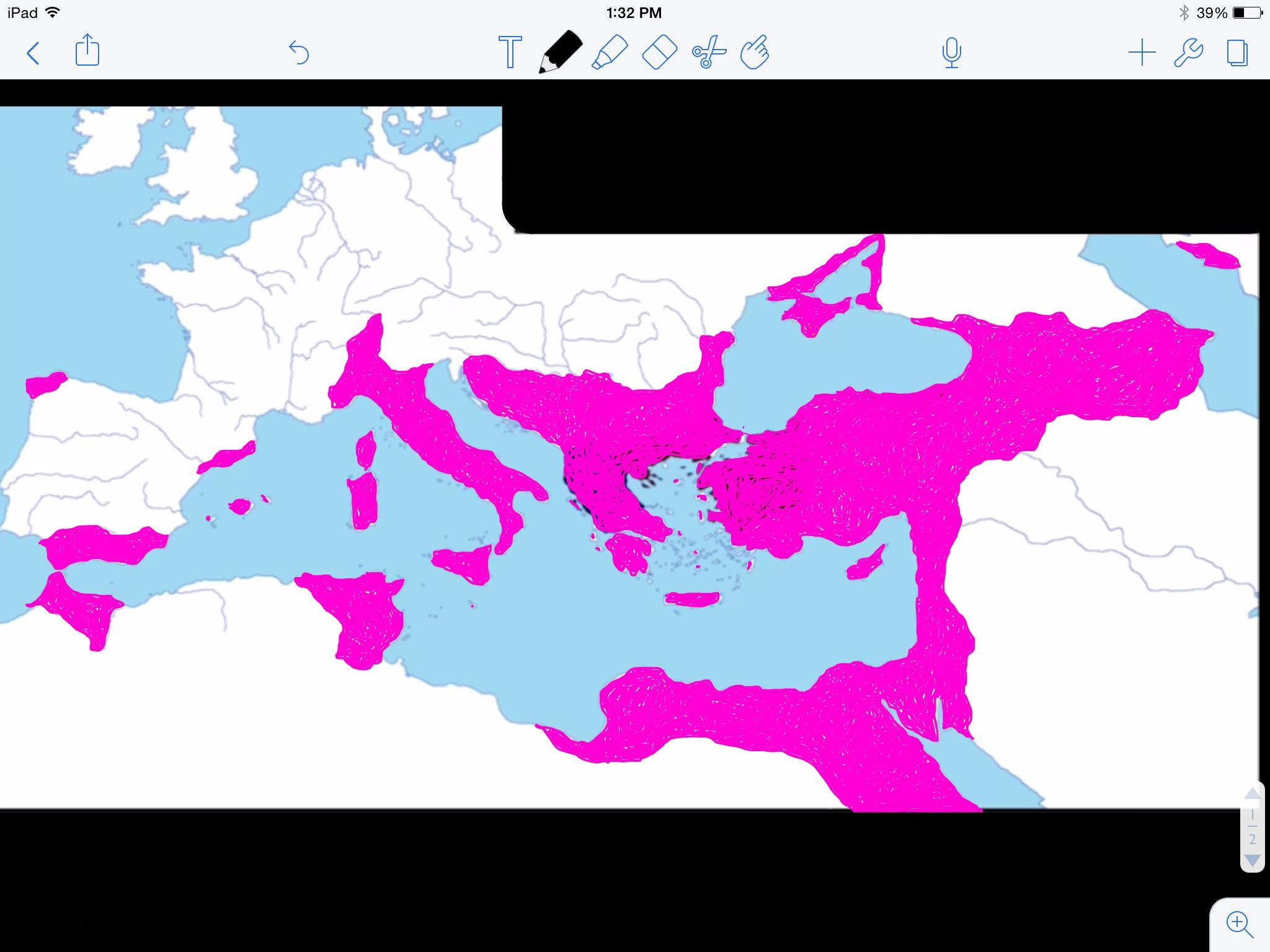 Map Of The Restored Byzantine Empire In Context In