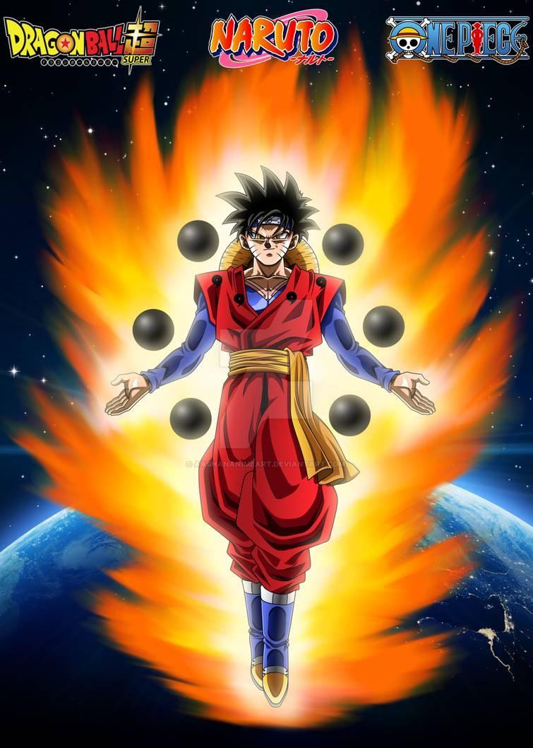 R1 no sage mode or nine tails amp for naruto. Goku Naruto And Luffy Fusion A T5 2b7hza