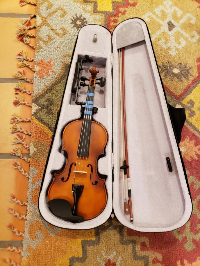 Thought I'd start learning violin during quarantine! Wish me luck ...