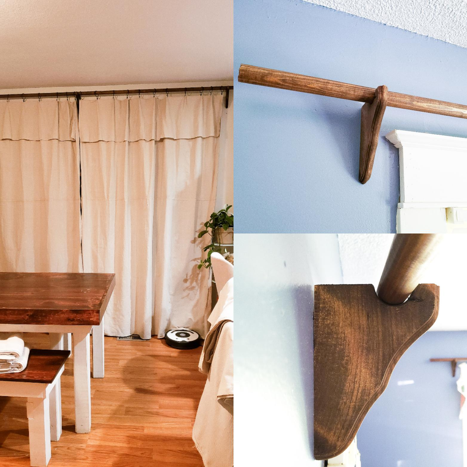 i diy d curtain rods brackets and