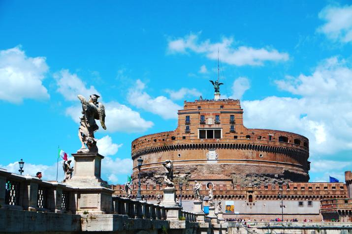 Castel Sant'Angelo, Rome, Italy (Photo credit to Michele Bitetto) [5472 x 3648]