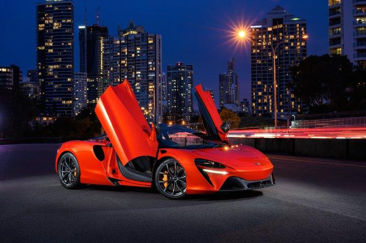 2021 McLaren Artura (Photo credit to Mitch Hemming) [4096 x 2724]