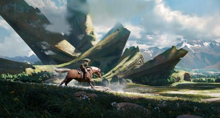 [3840×2160] Hyrule's plains