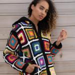 Crisp Fall Colors On The Crochet Hoodie Supreme