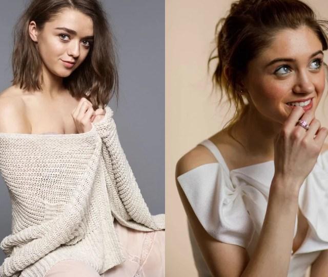 Maisie Williams Vs Natalia Dyer Celebbattles