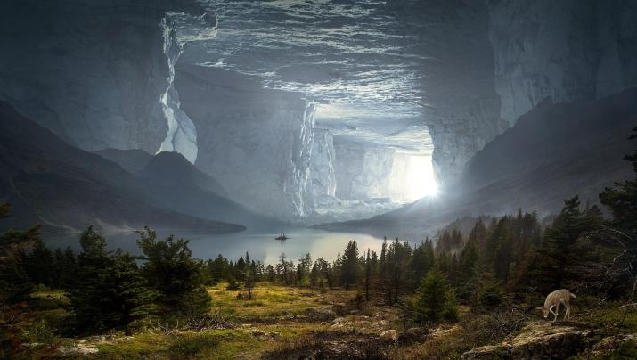 Fantasy Cave illusion [1920*1080]