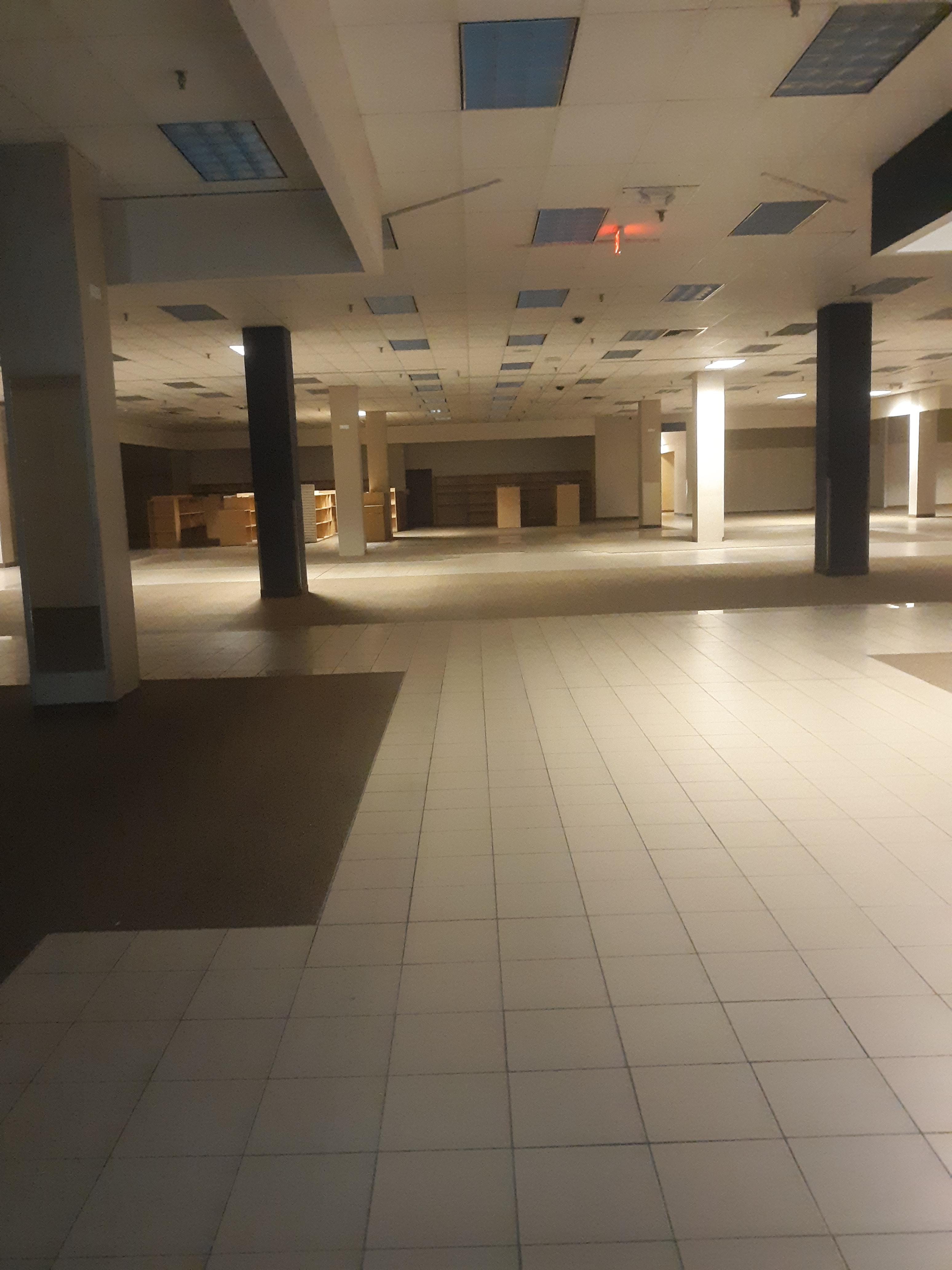 inside sears at great northern mall
